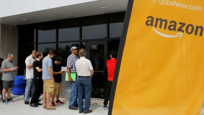 Amazon is hiring 33,000 new employees with an average compensation package worth $150,000